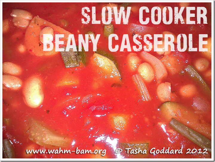 Slow cooker beany casserole recipe