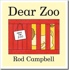 Dear Zoo is a brilliant book for younger children