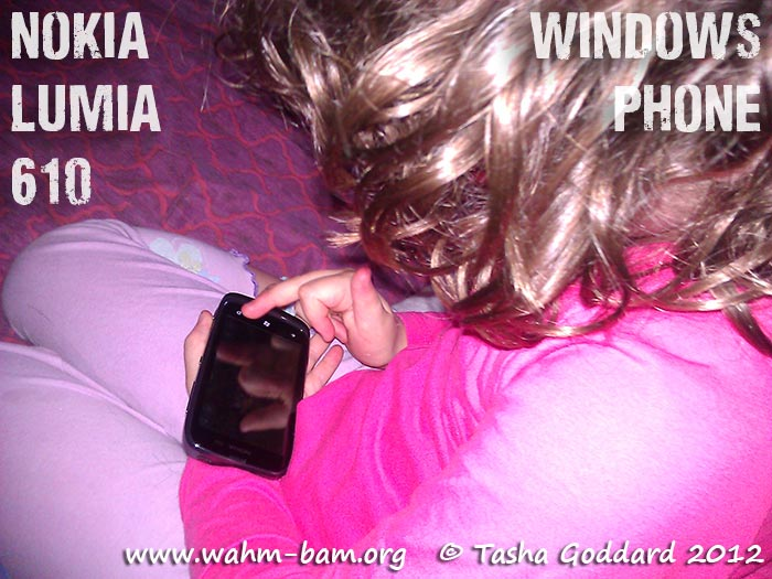 Nokia Lumia 610 Windows Phone (review on www.wahm-bam.org)