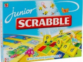Junior Scrabble (Mattel Games)