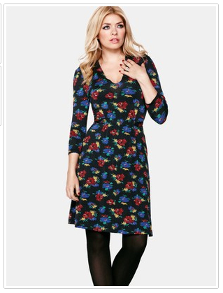 K & Co Holly Willoughby Floral Dress