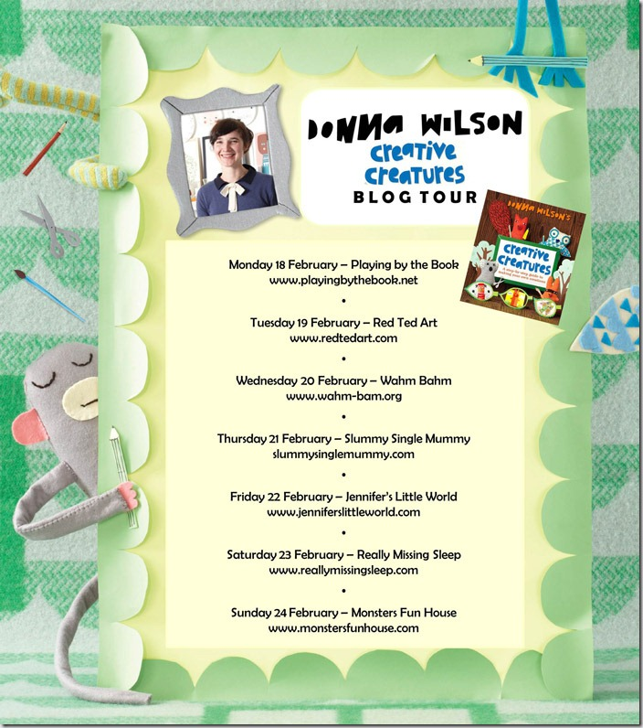 Donna Wilson Creative Creatures Blog Tour