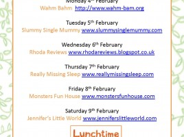 Lunchtime Blog Tour