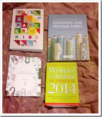 Just a few of my new art and design books
